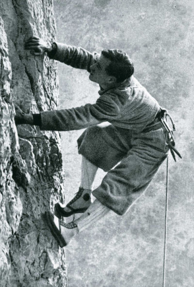 Emilio Comici, the Angel of the Dolomites